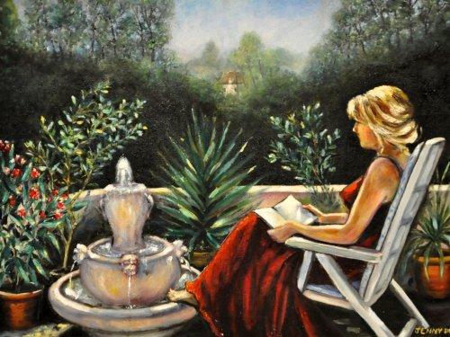 """Ayen, vernissage de l'exposition de peintures de Jennifer Jordan Dean """"voyage et combat d'une artiste"""""""