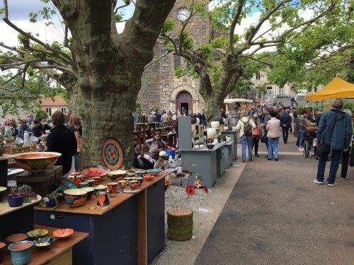 Retour sur le marché des potiers et des métiers d'art